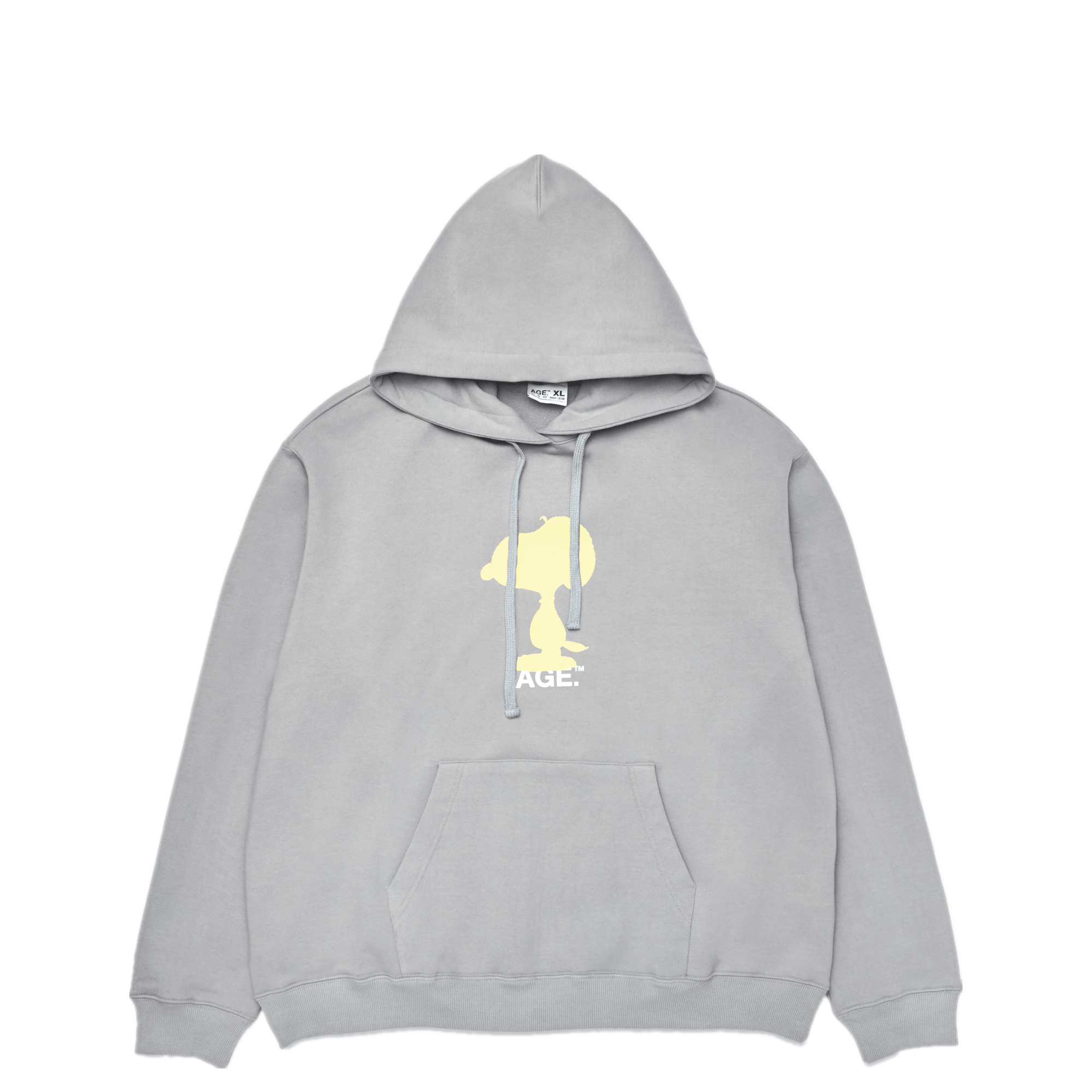 AGE X Snoopy Shadow Hooded GR/YL