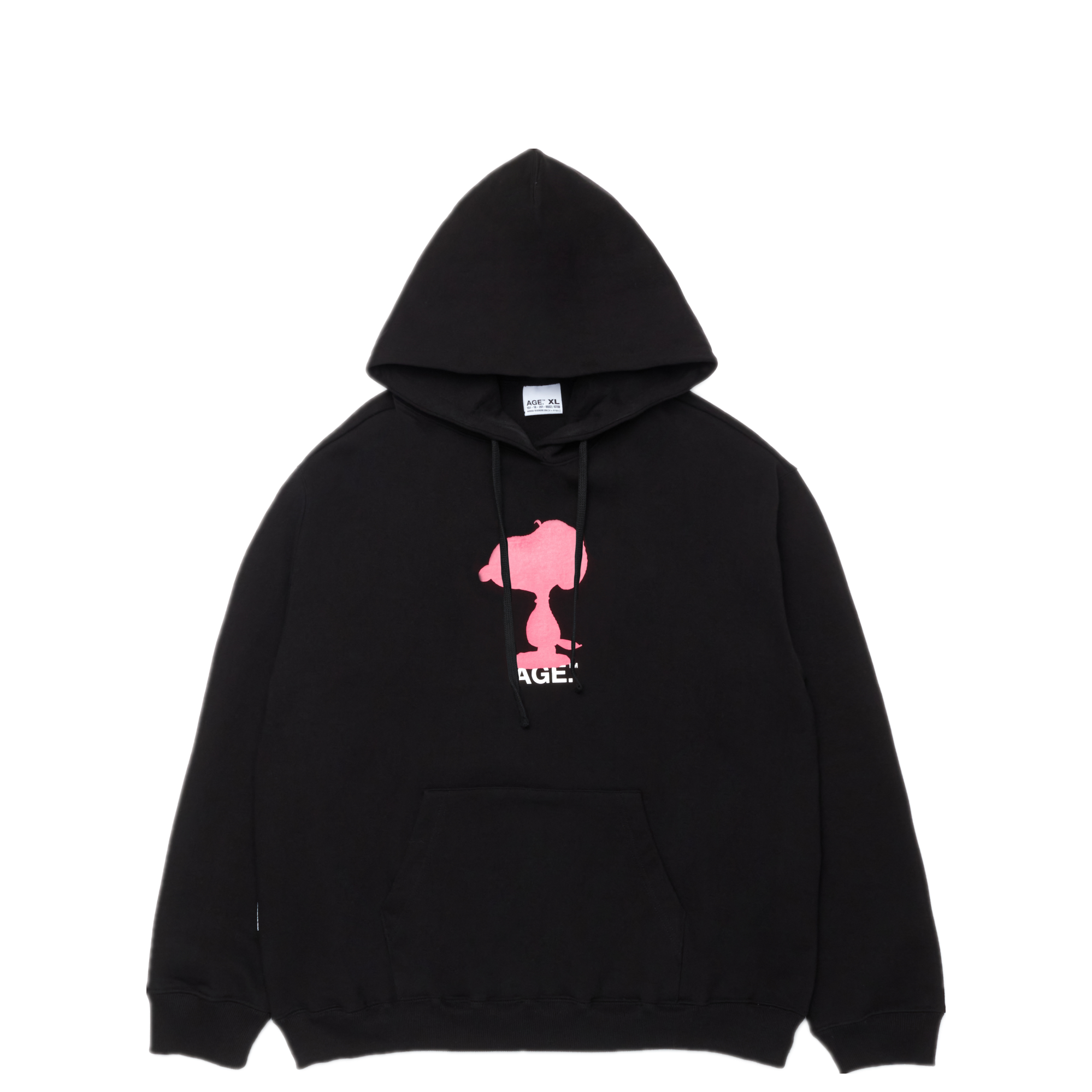 AGE X Snoopy Shadow Hooded BK/PK